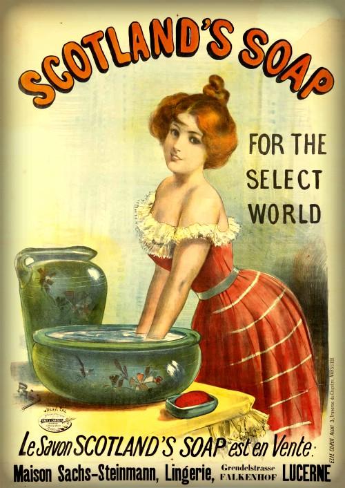 Scotland's-Soap, 1893. Image: Wikipedia.