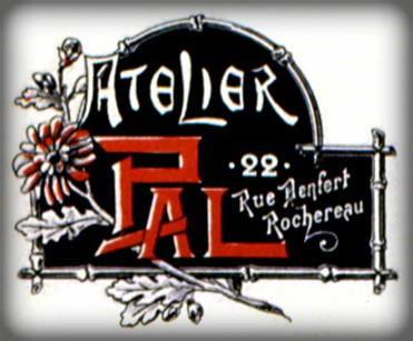 Jean Paleogogue Logo. Image: Library of Congress.