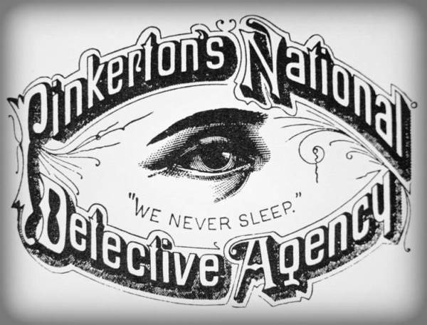 Pinkerton Agency Logo with Open Eye. Image: Pinkerton.com.