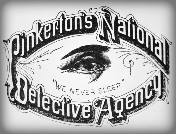 Pinkerton Agency Logo with Open Eye. Image: Pinkerton.com.