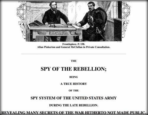 First Female Pinkerton: Spy of the Rebellion. Image: Google Books.