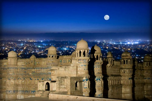 Gwalior Fort. Image: Wikipedia.