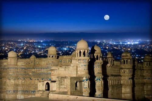 Gwalior Fort. Image: Wikipedia.
