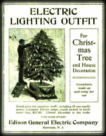 Advertisement For Electric Lighting Kit. Image: Library of Congress.
