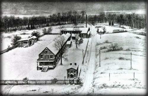 Thomas Edison's Menlo Park Complex In New Jersey. Image: Wikipedia.