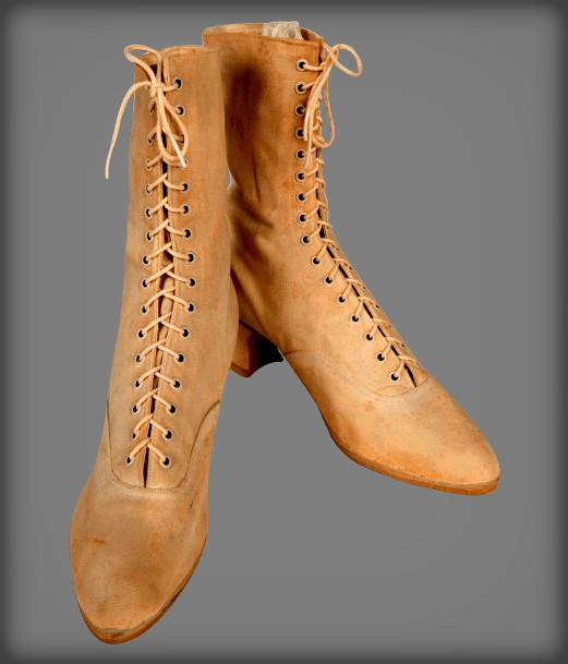Leisure Women's Tennis Shoes, 1890 Hood Rubber Co.. Image: ITHF.