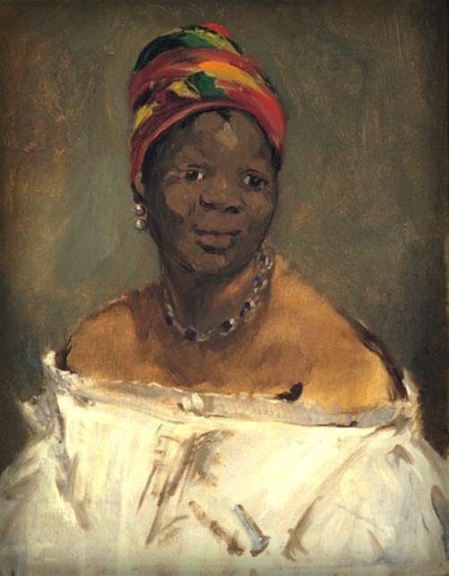 La Négresse by Edouard Manet-1862-3. Image: Wikipedia.