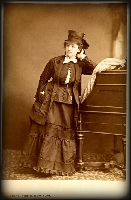 Victoria Woodhull by Mathew Brady, c1870. Image: Wikipedia.