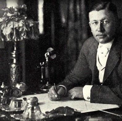 Horatio Jackson. Image: Wikipedia.