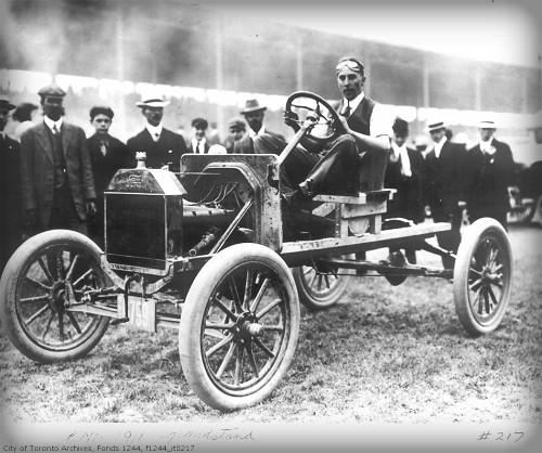 CNE Grandstand, 1911. Image: Wikipedia.