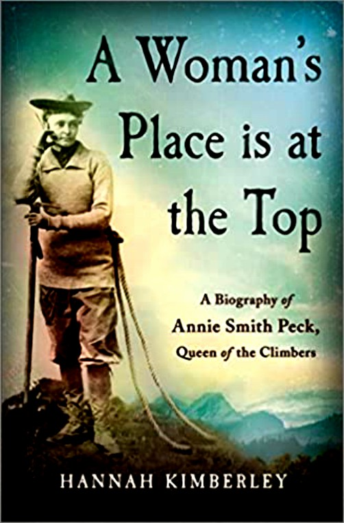 A Woman's Place Is At The Top by Hannah Kimberly. Image: Goodreads.