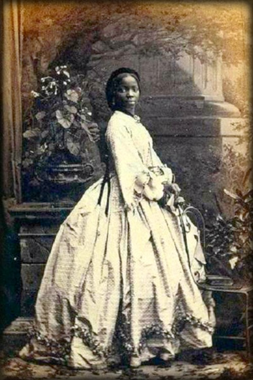 Sarah Forbes Bonetta, 1862. Image: National Portrait Gallery; Wikipedia.