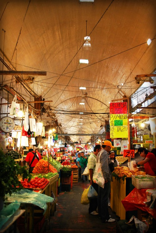 Market Hall in Mexico. Image: Wikipedia.