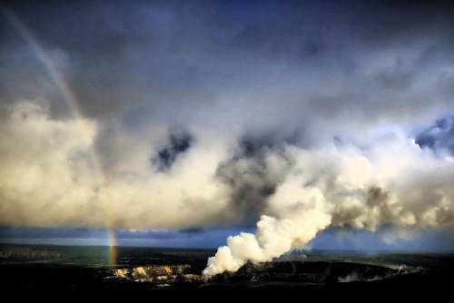 Halema uma u Vent, Kilauea,2008 Image: Brocken Inaglory; Wikipedia.