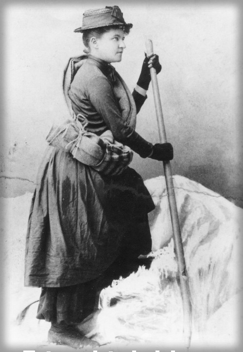 Fay Miller, 1890. Image: Mazamas Library; Steel Collection.