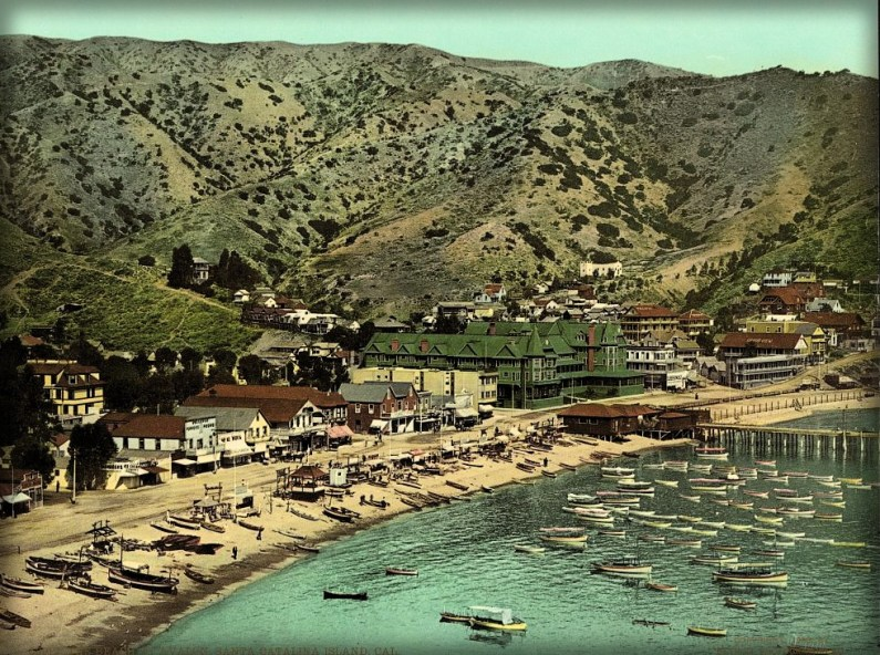 Avalon Bay, 1903. Image: Library of Congress.