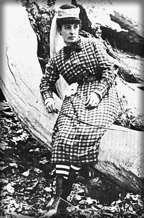 Sally Dutcher, Yosemite, 1875. Image: nps.org.