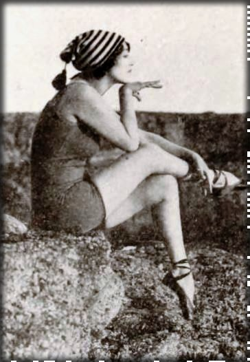 Annette Kellermann, 1920. Image: Library of Congress.