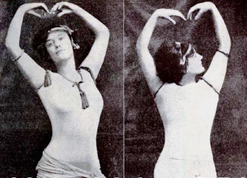 Annette Kellermann, 1909. Image Library of Congress.