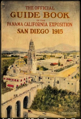 Guide Book, Panama California Expo. 1915. Image: Wikipedia.