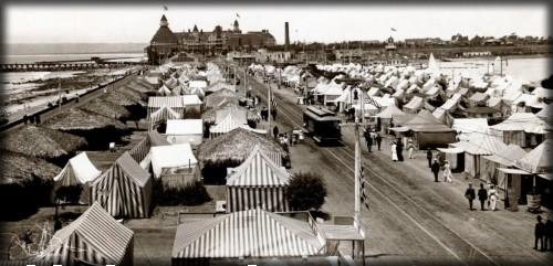 Coronado Tent City, c.1900. Image: HotelDel.com