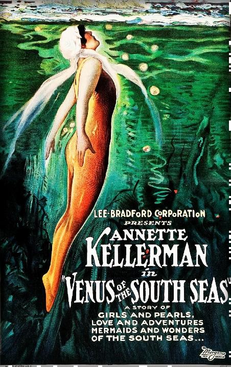 Annette Kellermann, Venus of the South Seas Poster. Image: Wikipedia.