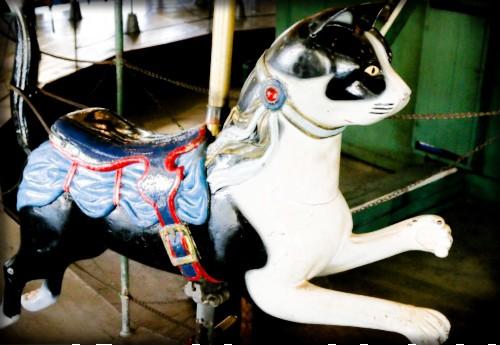 Balboa Park Carousel, Cat. Image: Friends of Balboa Park.