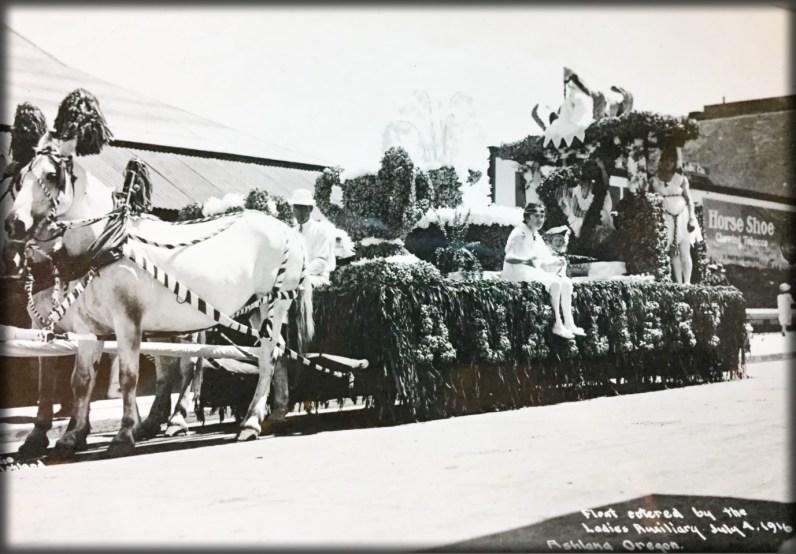Victorian July Fourth Parades-Ashland, Oregon, 1916. Image: Ashland Library.