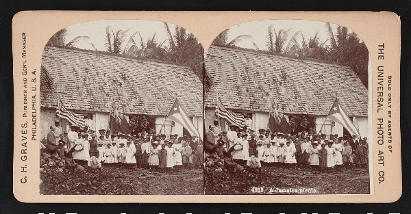 A Jamaica Picnic, 1899. Image: Library of Congress