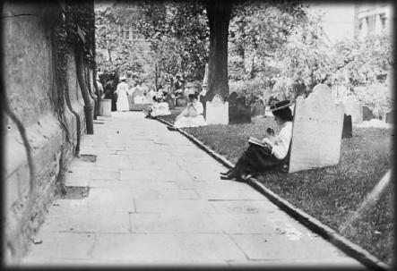St. Paul's Church, New York City, circa 1890s. Image: Library of Congress.
