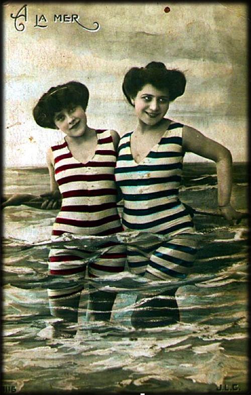 A la Mer, c. 1906. Image: B=VintageEs.com.