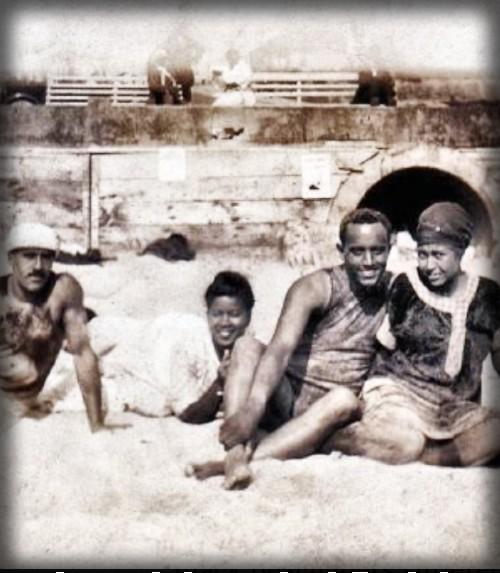 Beach Goers, Inkwell Santa Monica, 1928. Image: Rick Blocker.