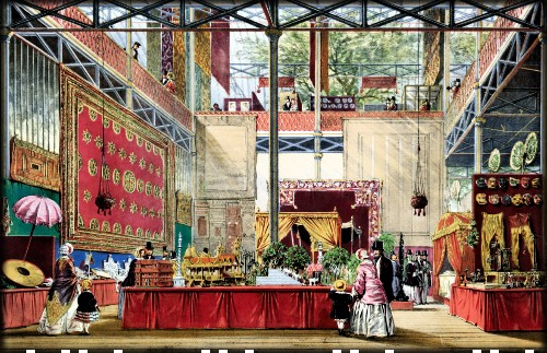 Plate From Dickinson's Comprehensive Pictures of the Great Exhibition of 1851. Image: Wikipedia.