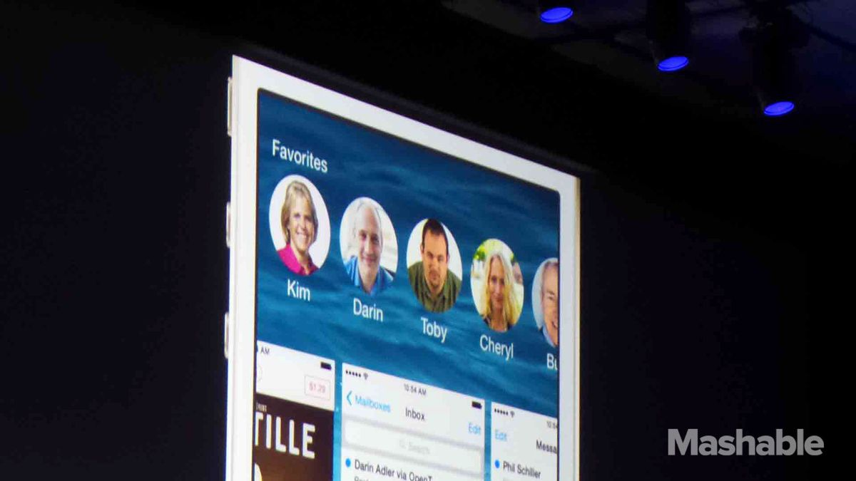 iOS 8 Contacts