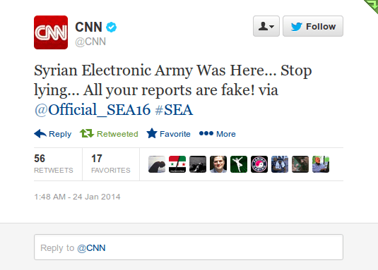 CNN SEA Tweet