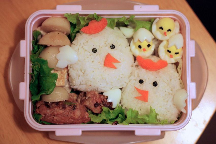 Chicken-bento-box