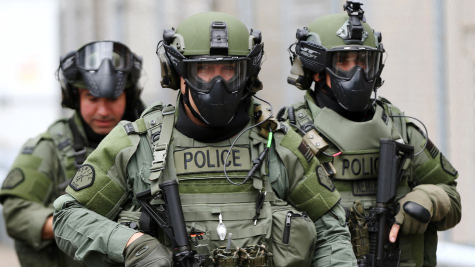 New Report Reveals 'Excessive' Militarization of U.S. Police