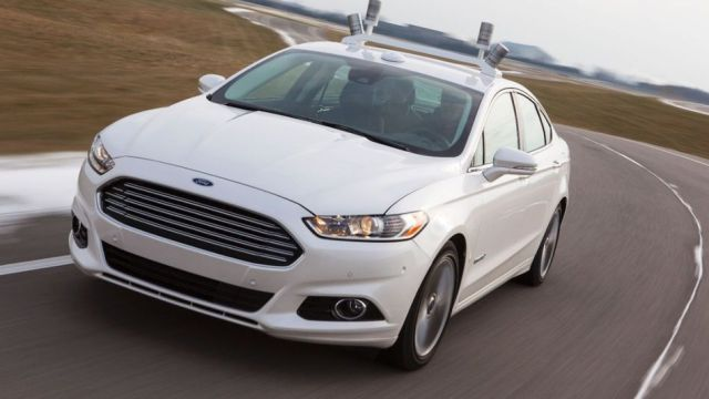 Ford-fusion-hybrid-selfdriving
