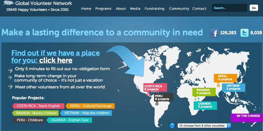 Global-volunteer-network