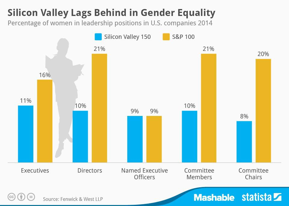 Silicon Valley Gender Equality