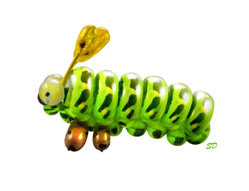 Caterpillar-initials
