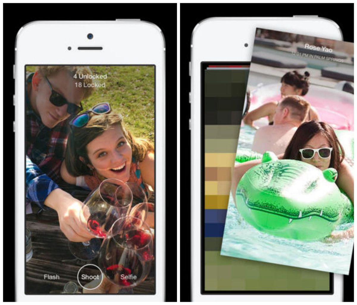Facebook unveiled a new app Slingshot, which features ephemeral messages similar to Snapchat.