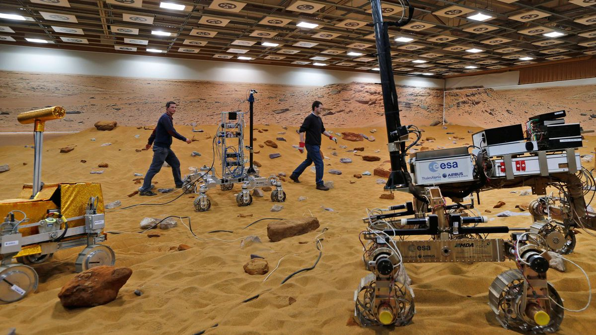 European Space Agency ExoMars program