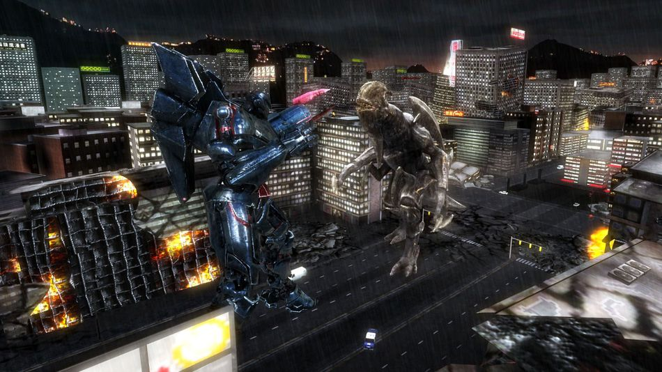 pacific rim game pits custom robots against monsters photos