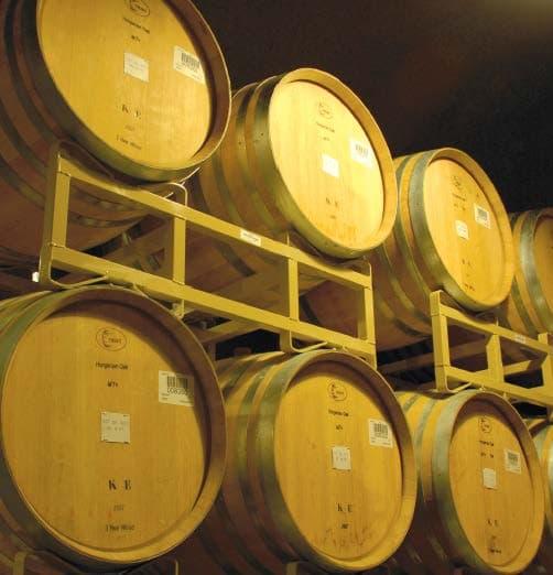 wine barrel racks whiskey barrel