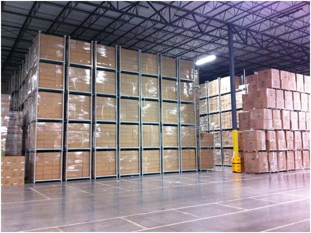 Stack Racks Reduce Product Damage Increase Bin Capacity