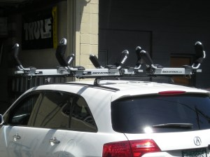 Installing Roof rails on 2009 MDX. 2008 Acura Mdx Kayak And Hitch Rack Rack Attack Vancouver S Blog
