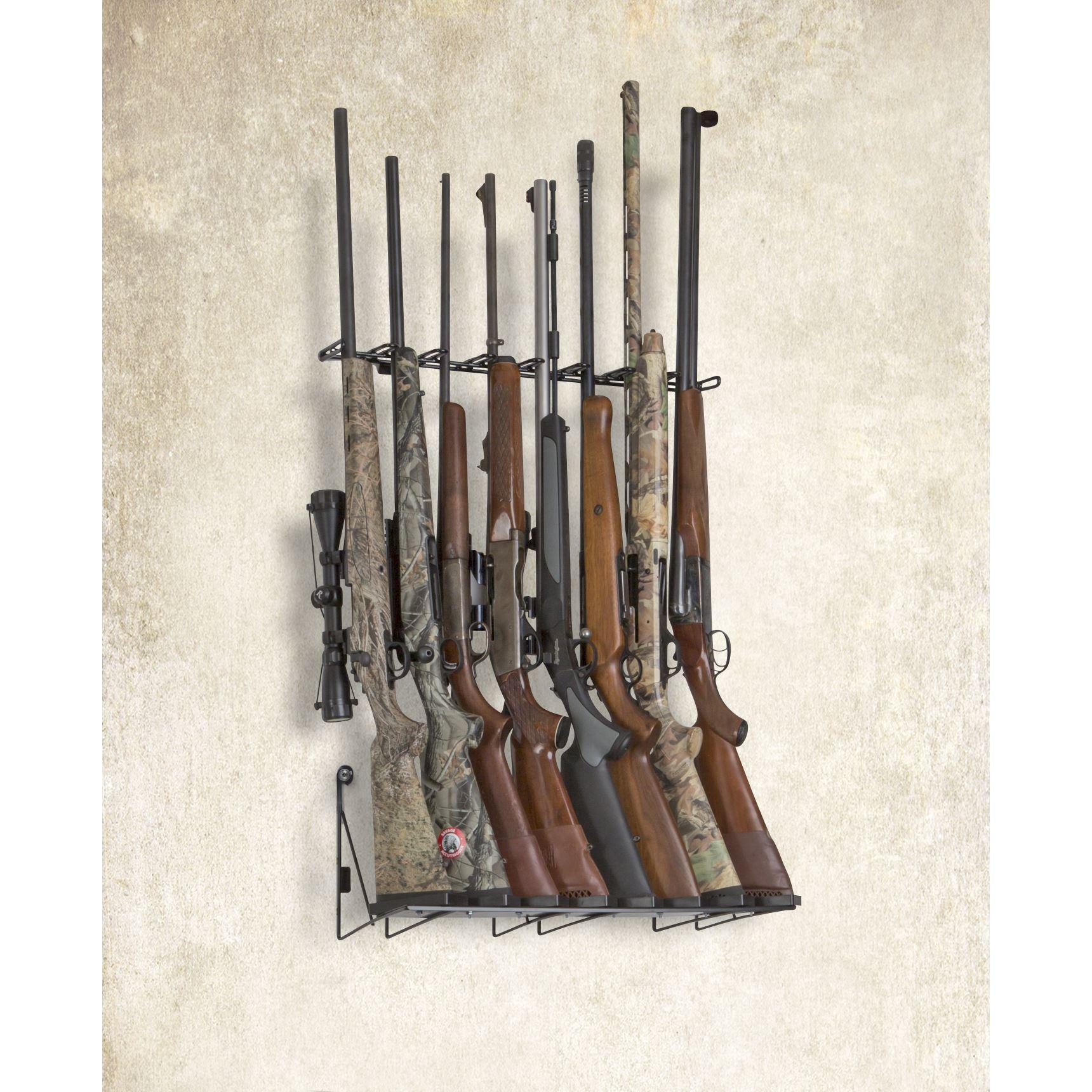 2 8 rifle wall display mount anywhere sku 6285