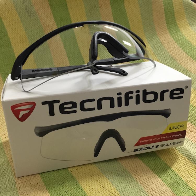 Tecnifibre Absolute Squash JUNIOR Eye Guard