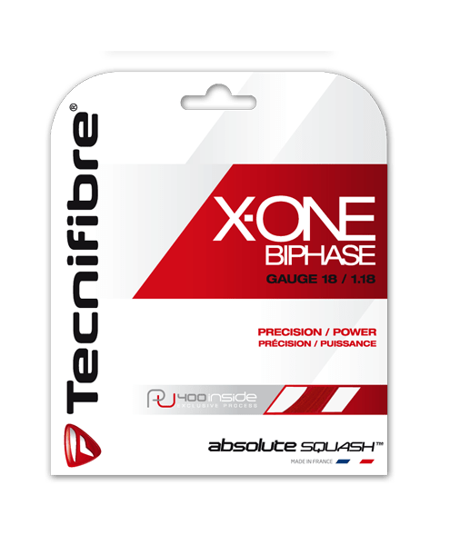 Tecnifibre X-ONE 1.18 X-One Biphase Squash String 200m Reel